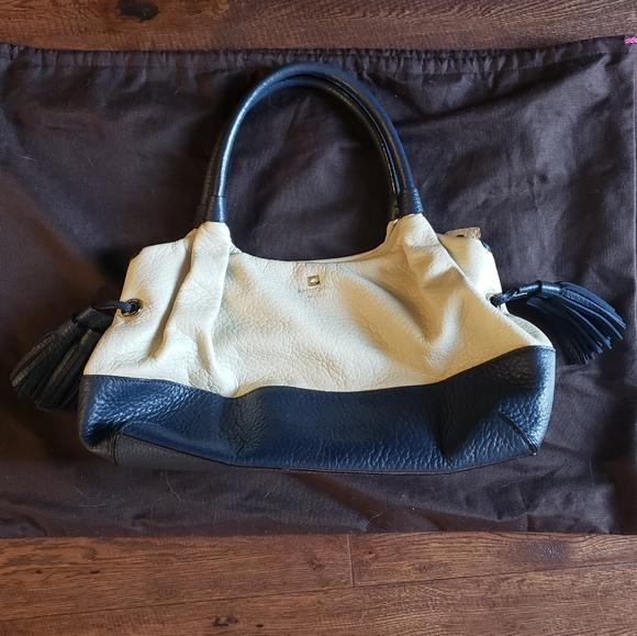 Blue and Cream Kate Spade Handbag